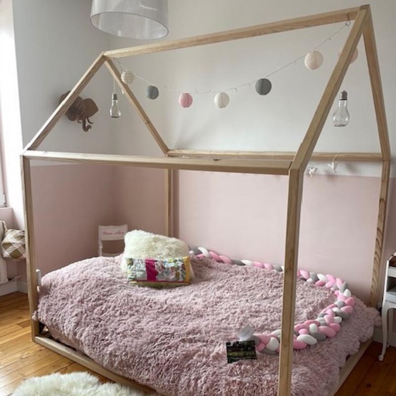 "Lit Cabane Montessori ""Maxi Bambin"" 140x190"